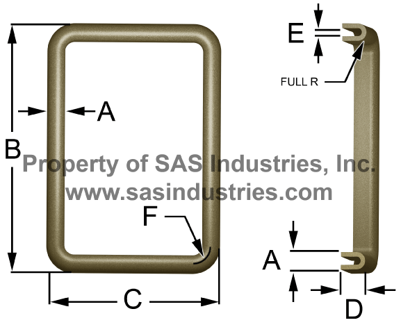 Waveguide Gaskets PDR U Style